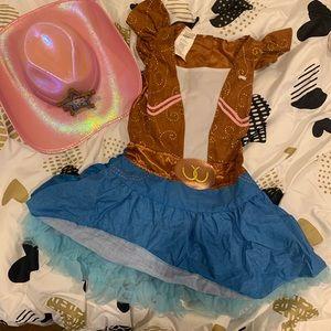 Girls Sheriff Callie Costume/Dress-Up w/ Hat